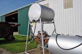 200 gal gravity fuel tank