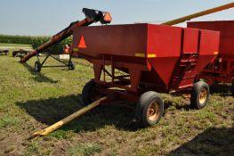 Unverferth 200 bu gravity bed wagon, New Holland gear, 9.5L-15 tires