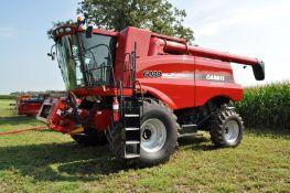 Case IH 6088 combine, 900/60R32 drive tires, 540/65R30 rear tires, 2WD, Field Tracker