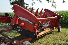 Case IH 3406 corn head, knife rolls, hyd deck plates, poly, 2 stalk stompers, header height control