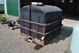1000 gal square poly tank