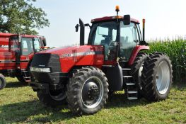 Case IH MX210 tractor, MFWD, C/H/A, 480/80R46 rear duals, 380/85R34 front tires, powershift