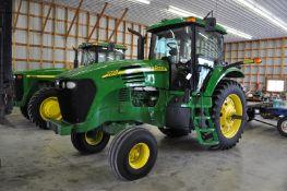 John Deere 7720 tractor, 480 / 80 R 42 rear, 14 L-16.1 tires, 3 hyd remotes, 3 pt