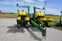 """John Deere 1760NT planter, 8 row x 30"""", hyd front fold, finger pickup, on row boxes, no-till"""