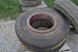 10.00-20 tire and dayton rim