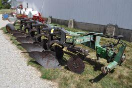 John Deere 2800 5 btm plow, semi-mounted, spring reset, SN 015741A