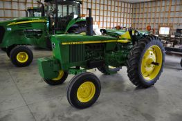 John Deere 2030 tractor, 13.6-38 rear, 7.5-16 front, front wts, 2 hyd remotes, 3 pt, quick hitch