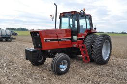 International 5488 tractor, 18.4 R 42 duals, 14L-16.1 front, front wts, 12 spd trans, 3 hyd remotes