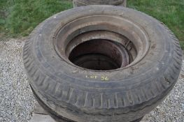 10.00-22.5 tire and split dayton rim