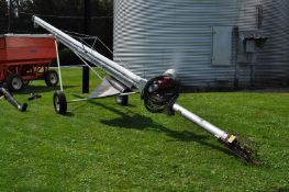 "6"" x 40' Hutchinson auger, 3 hp, 220 volt motor"