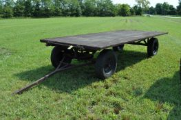 16' flat rack wagon