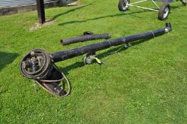 15' J & M seed auger, poly cup, hyd drive