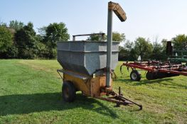 Knoedler MFG feed wagon, 7.00-15 tires, 540 pto, front discharge auger