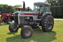 White 2-135 Series 3 tractor, 20.8 R 38 rear duals, 14L-16.1 front, diesel, 6 spd w/ O/U/D