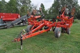 2019 Kuhn 4830 9 shank deep ripper, hyd fold, pull type, depth wheels, tandem transport tires
