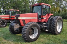 Case IH 7150 tractor, MFWD, C/H/A, 18.4R46 rear duals, 16.9R30 front, 18F 4R powershift