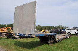 2005 53' Aztec drop deck trailer, tandem axle, VIN 1APBV4B77SM362035