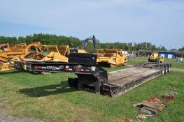 2001 50 ton Eager Beaver hyd detach trailer, 121,000 GVWR, 24' well, tri axle, air ride,