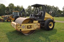 Bomag BW 211 D-3 vibratory roller, 23.1-26 tires, open ROPS, 5,988 hrs