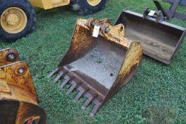 """36"""" Rock bucket for John Deere 410J Backhoe"""