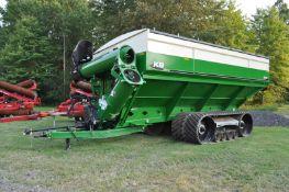 "2020 Killbros 1613 grain cart, dual auger, 48"" Equalizer tracks, 5-point scale, Autolube, 1000 PTO"