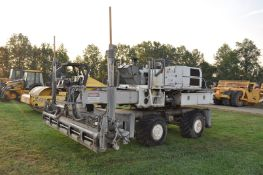 Somero S240 laser screed, 13' screed, 38x20.00-16.1 tires, 8365 hrs, SN 89511962