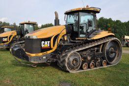 "Challenger MT865 track scraper tractor, CAT C-16 engine, 512 hp, 16 spd powershift, 30"" belts"
