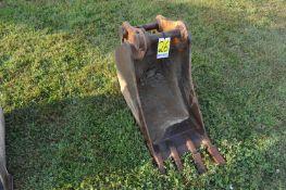 Rock bucket for a John Deere 75C excavator
