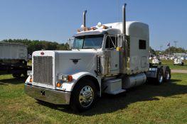 "2005 Peterbilt 379 semi truck, 68"" sleeper, 3406E CAT 475 hp, 13 speed Eaton, air ride, twin screw"