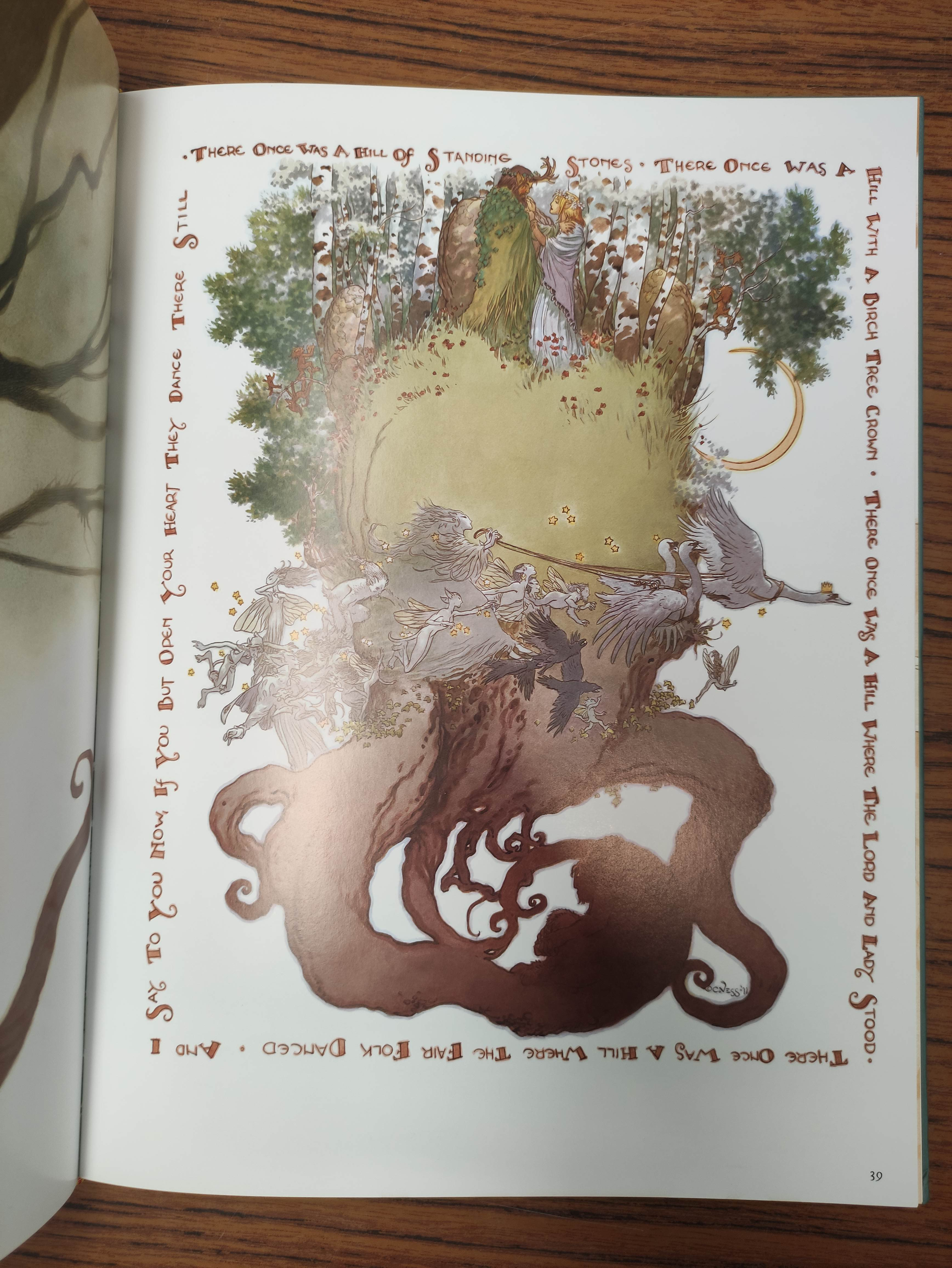 VESS CHARLES.Coloring Book. 5 copies, unused. Each signed by Vess; also 2 other vols. (6). - Image 12 of 14