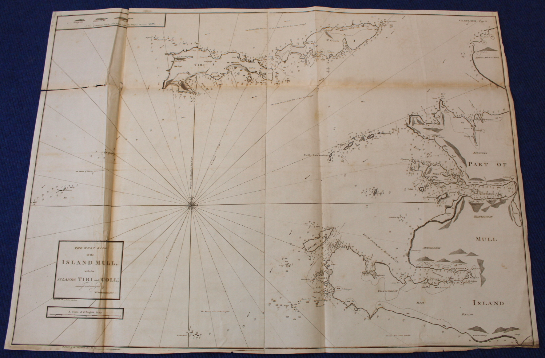 MACKENZIE MURDOCH (SNR.).A General Chart of the West Coast & Western Islands of Scotland from - Image 29 of 66