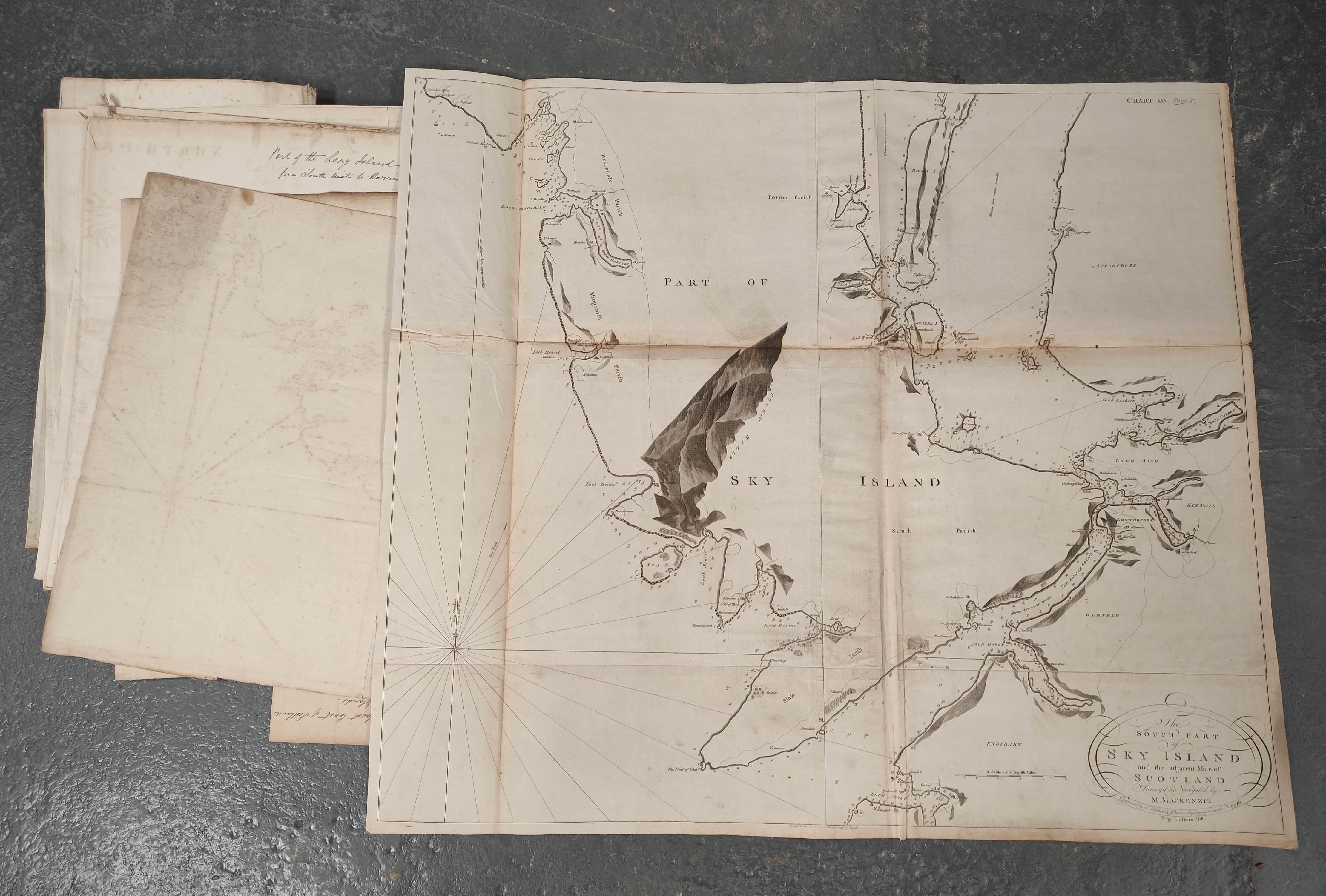 MACKENZIE MURDOCH (SNR.).A General Chart of the West Coast & Western Islands of Scotland from