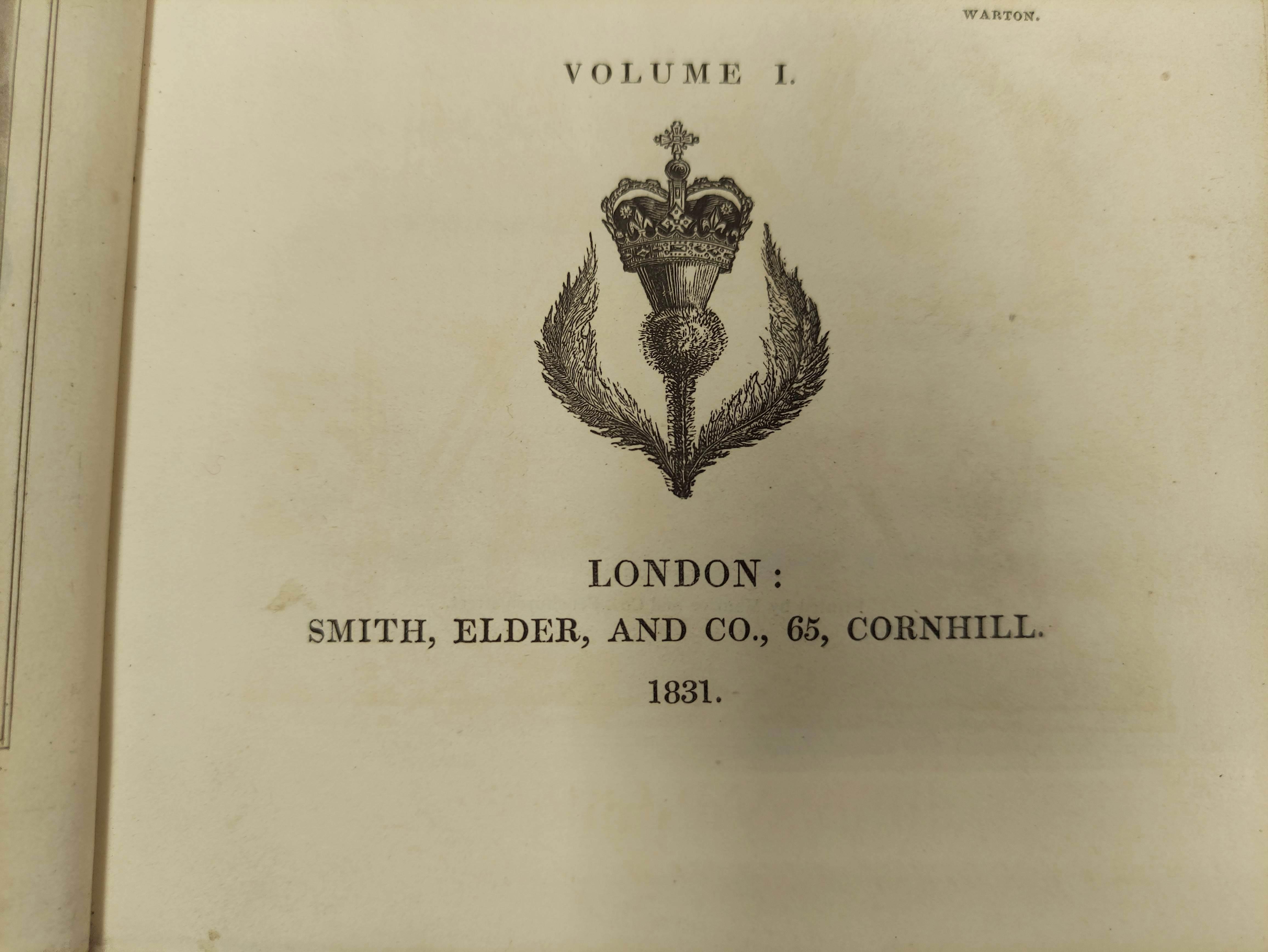 LOGAN JAMES.The Scottish Gael. 2 vols. Col. frontis & text illus. Half green morocco. A nice - Image 4 of 10