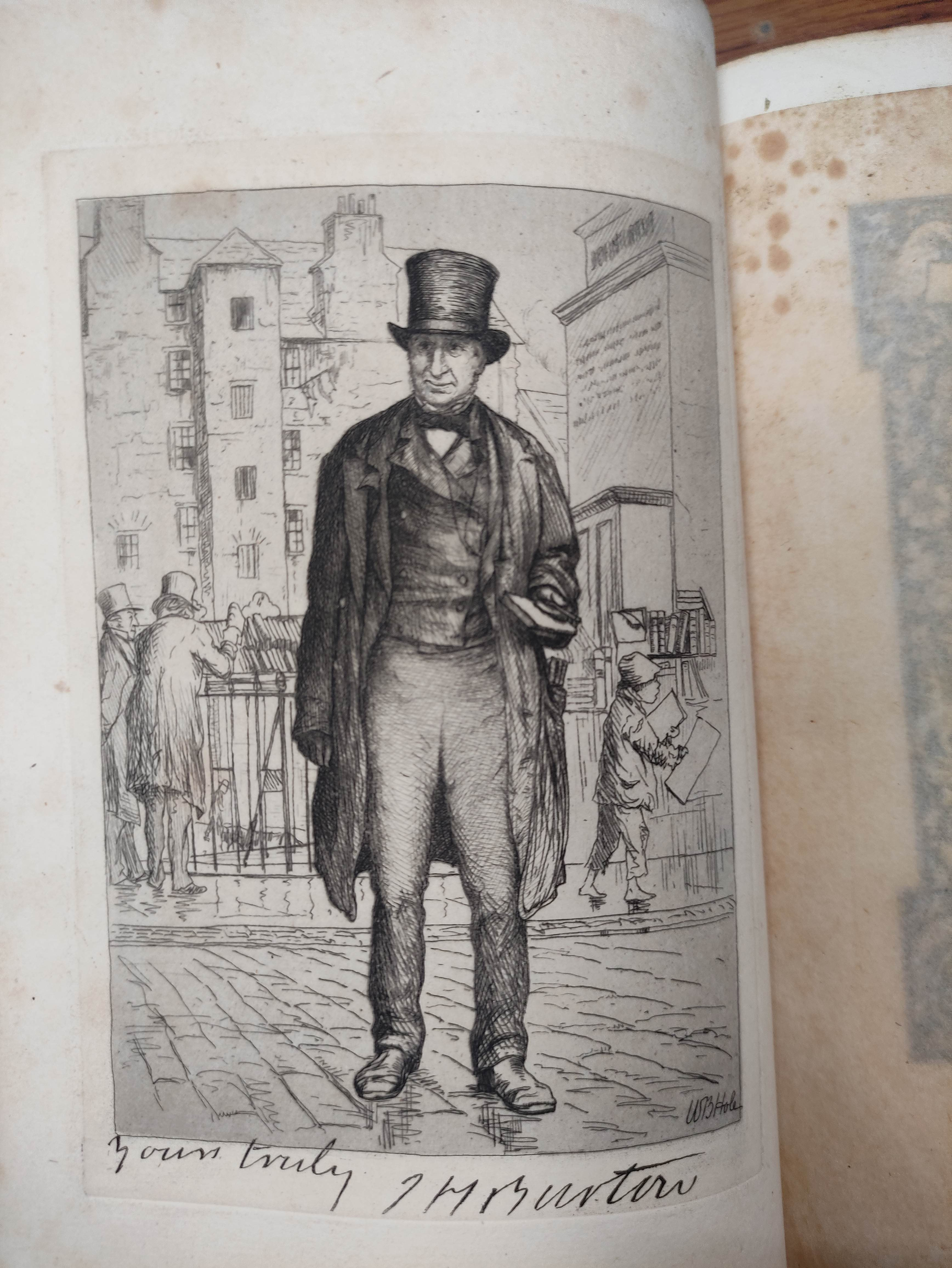 ROBERTS WILLIAM.The Book-Hunter in London. Illus. Orig. pict. cloth gilt, internal browning. 1895; - Image 8 of 8