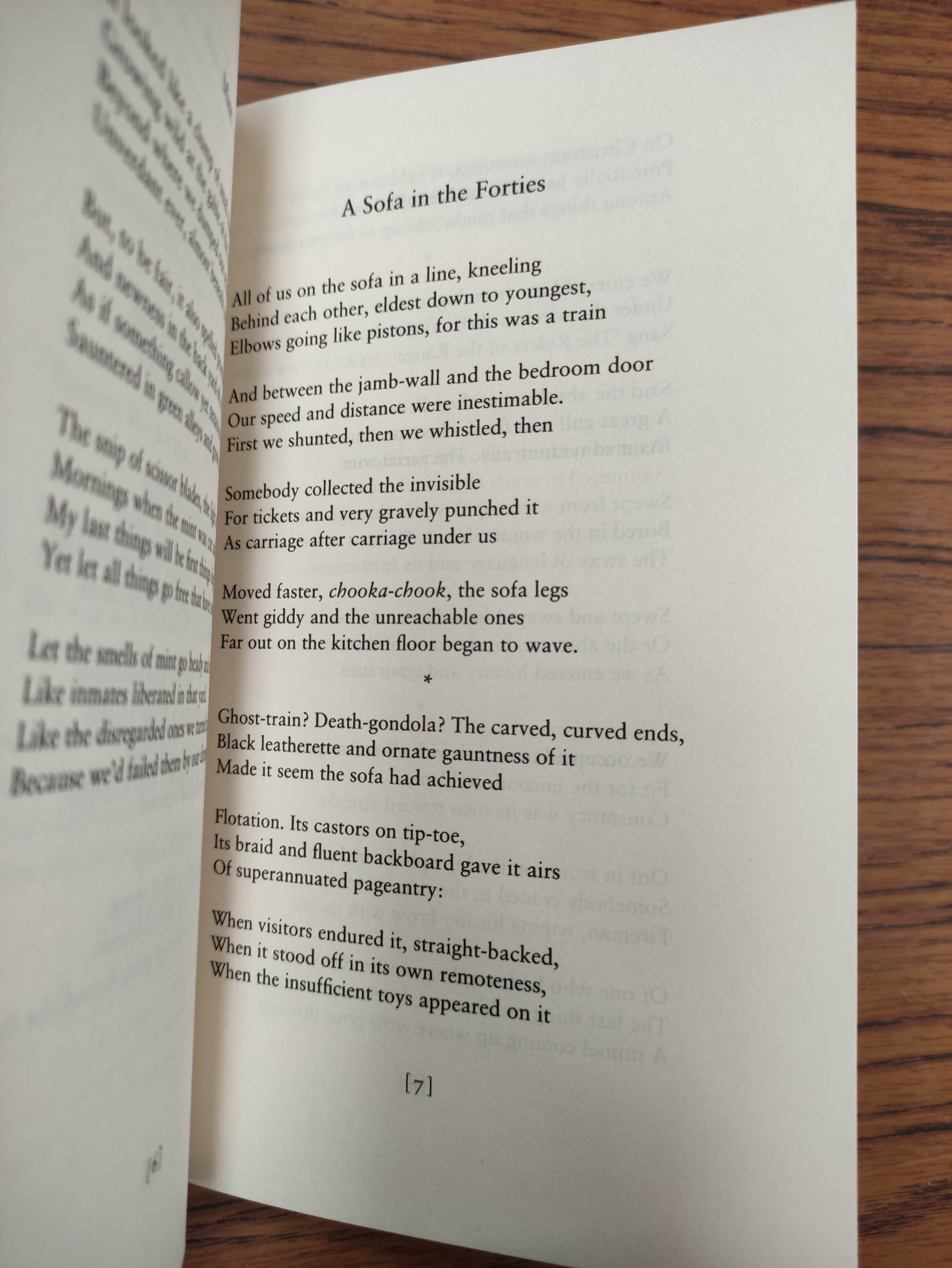 HEANEY SEAMUS. Sweeney Astray. Signed by Heaney. Orig. brown & lime green cloth & brds. in d.w. - Image 6 of 9