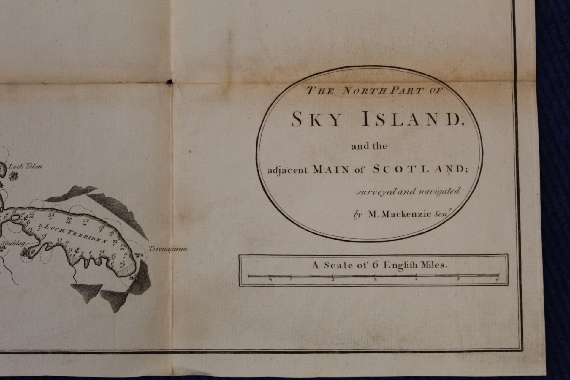MACKENZIE MURDOCH (SNR.).A General Chart of the West Coast & Western Islands of Scotland from - Image 50 of 66