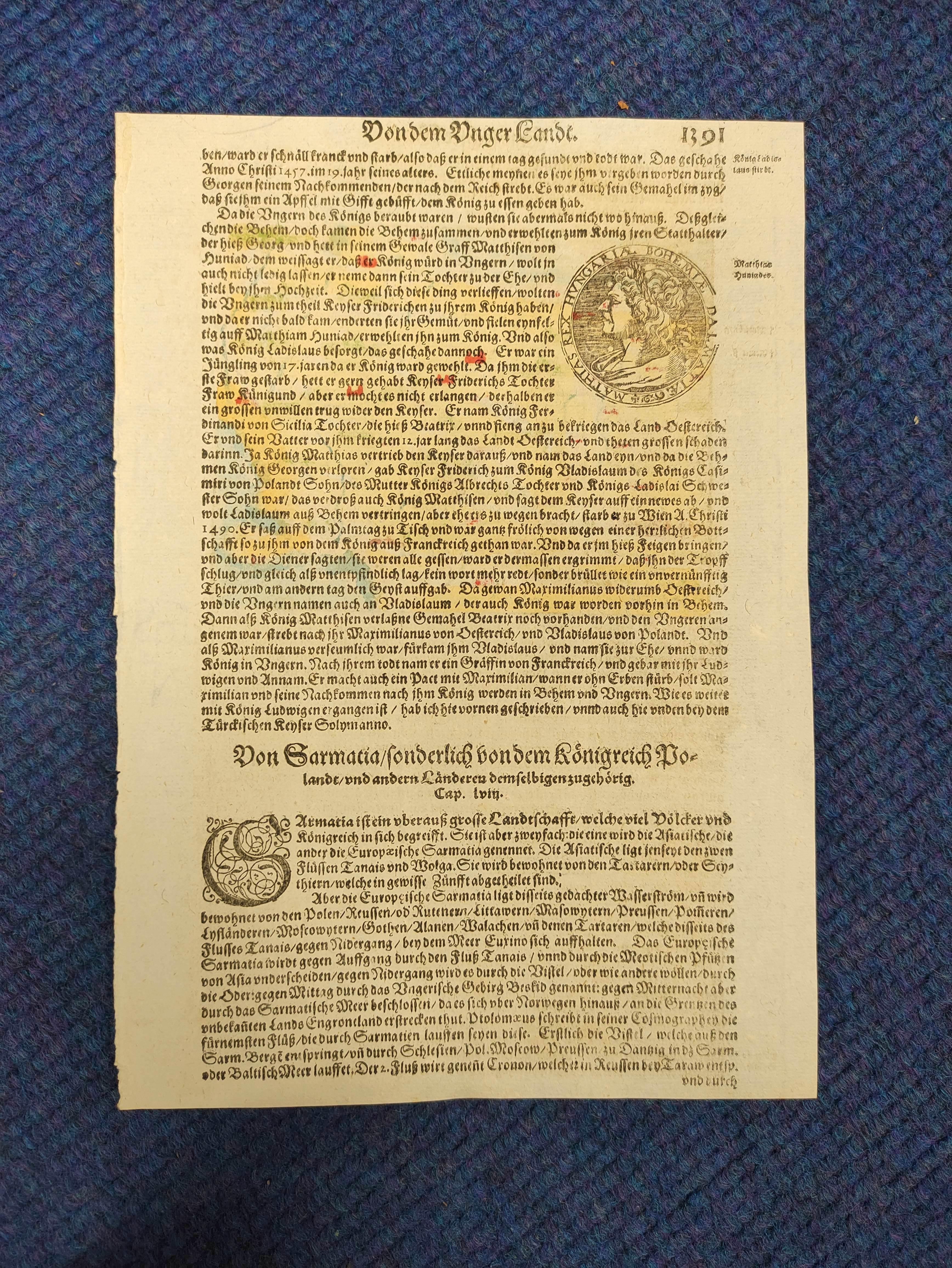 (DAHLBERG E. J.)Ichnographia Castri Schwetz & Ichnographia Castelli Pillau. 2 17th cent. - Image 11 of 12