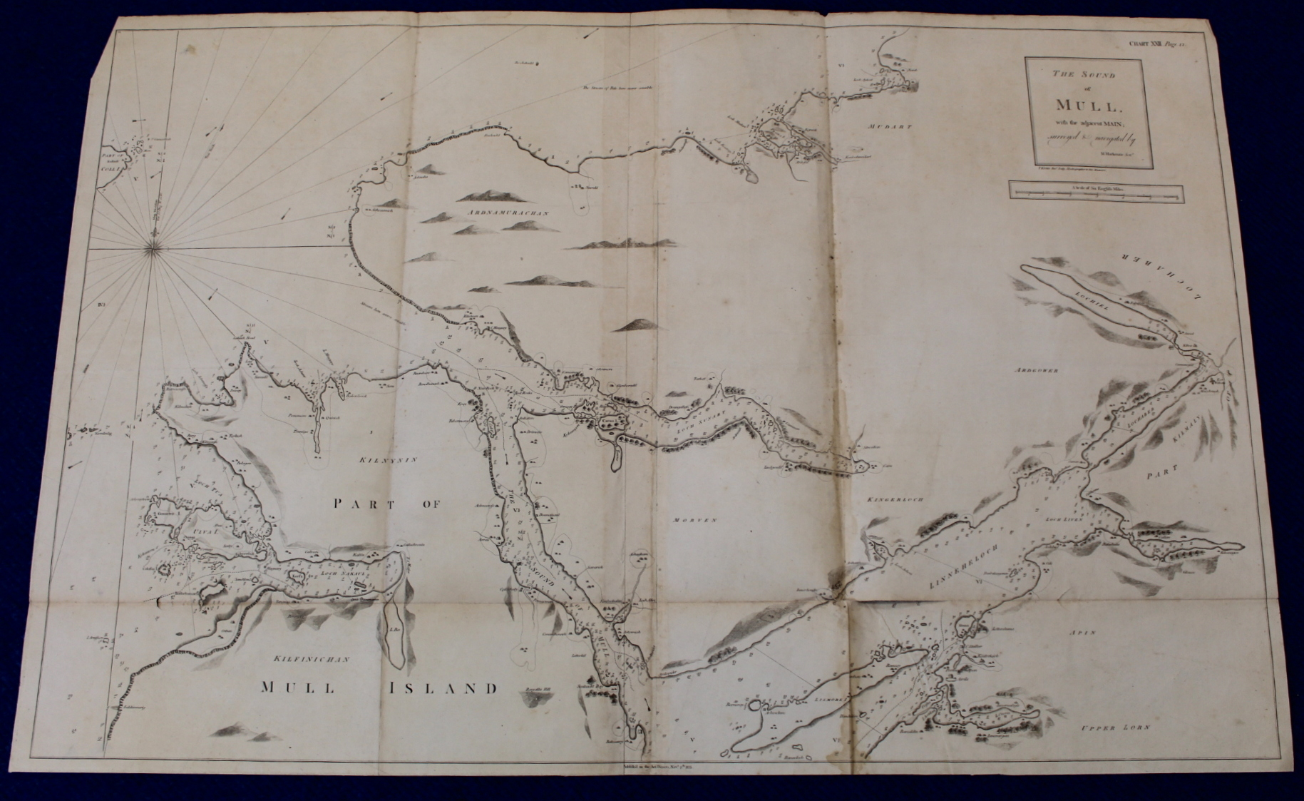 MACKENZIE MURDOCH (SNR.).A General Chart of the West Coast & Western Islands of Scotland from - Image 46 of 66
