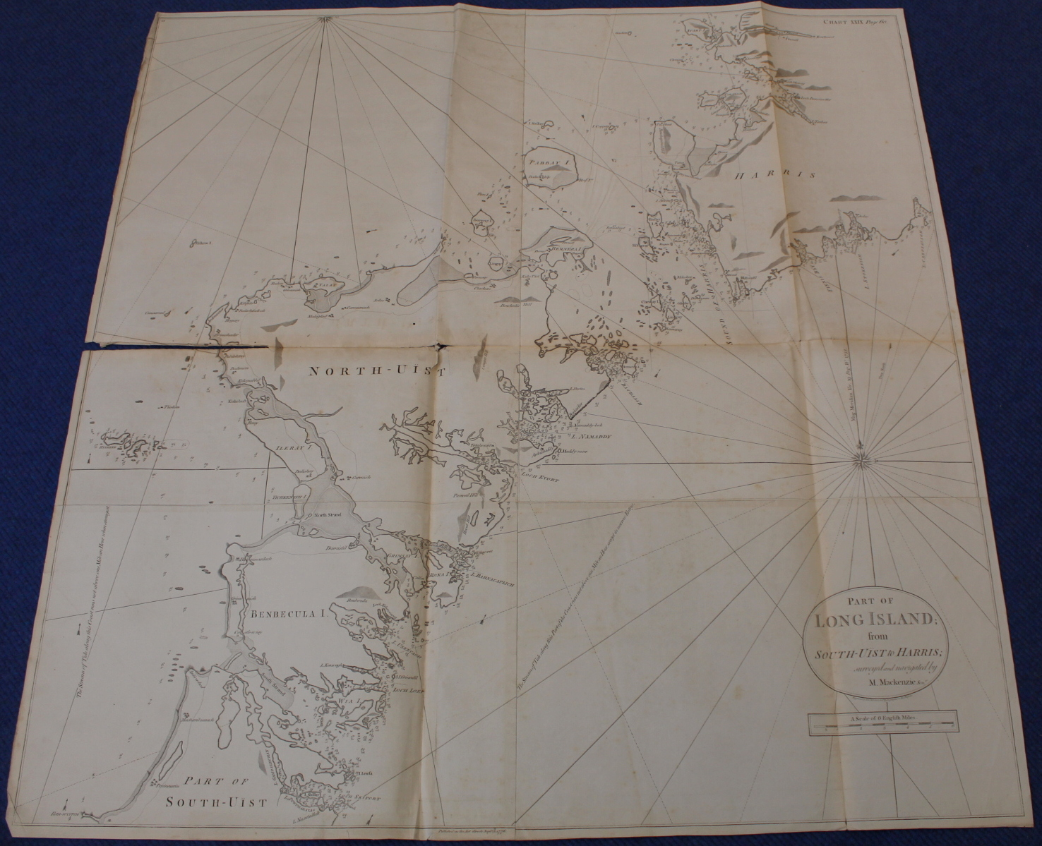 MACKENZIE MURDOCH (SNR.).A General Chart of the West Coast & Western Islands of Scotland from - Image 25 of 66