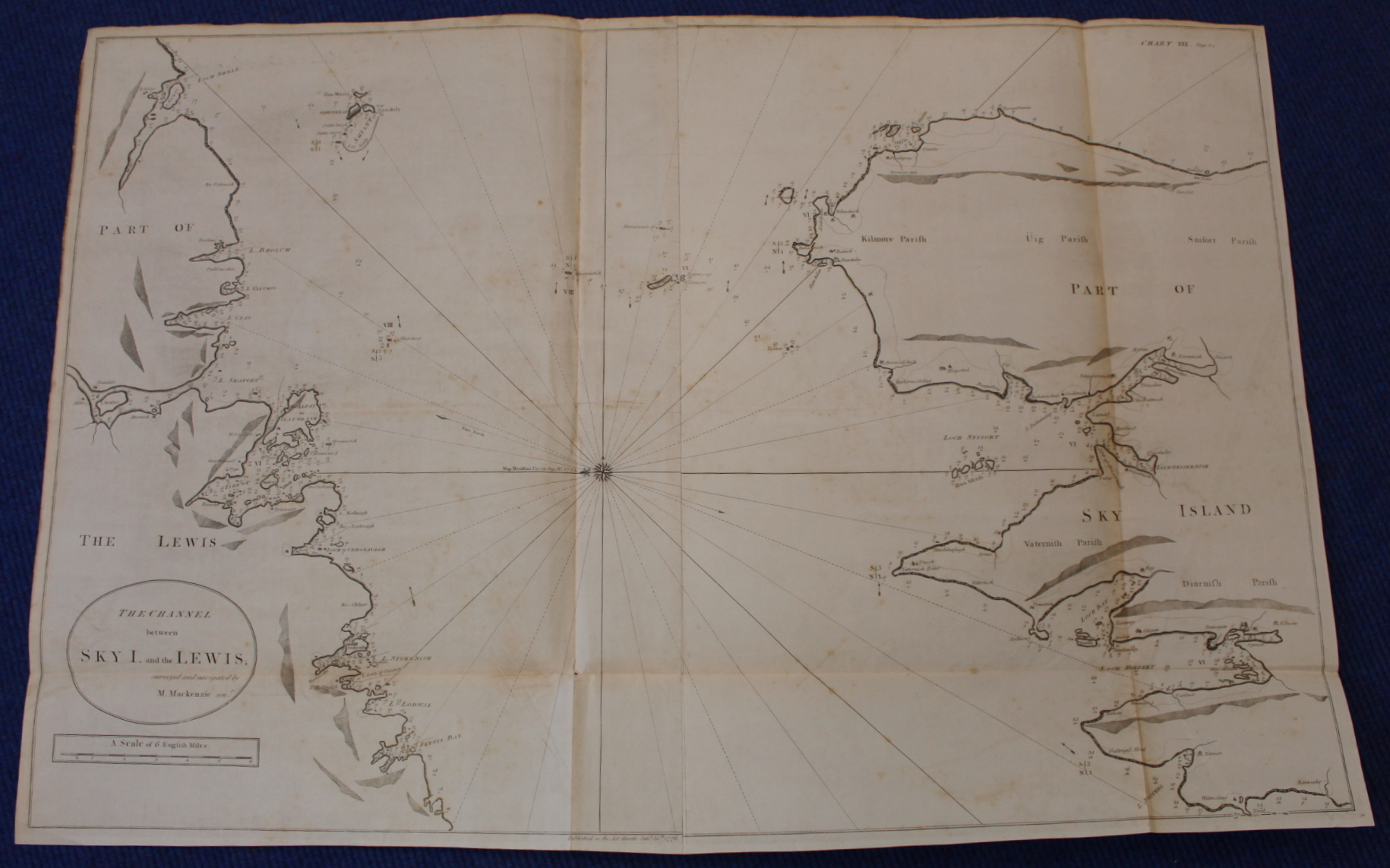 MACKENZIE MURDOCH (SNR.).A General Chart of the West Coast & Western Islands of Scotland from - Image 43 of 66