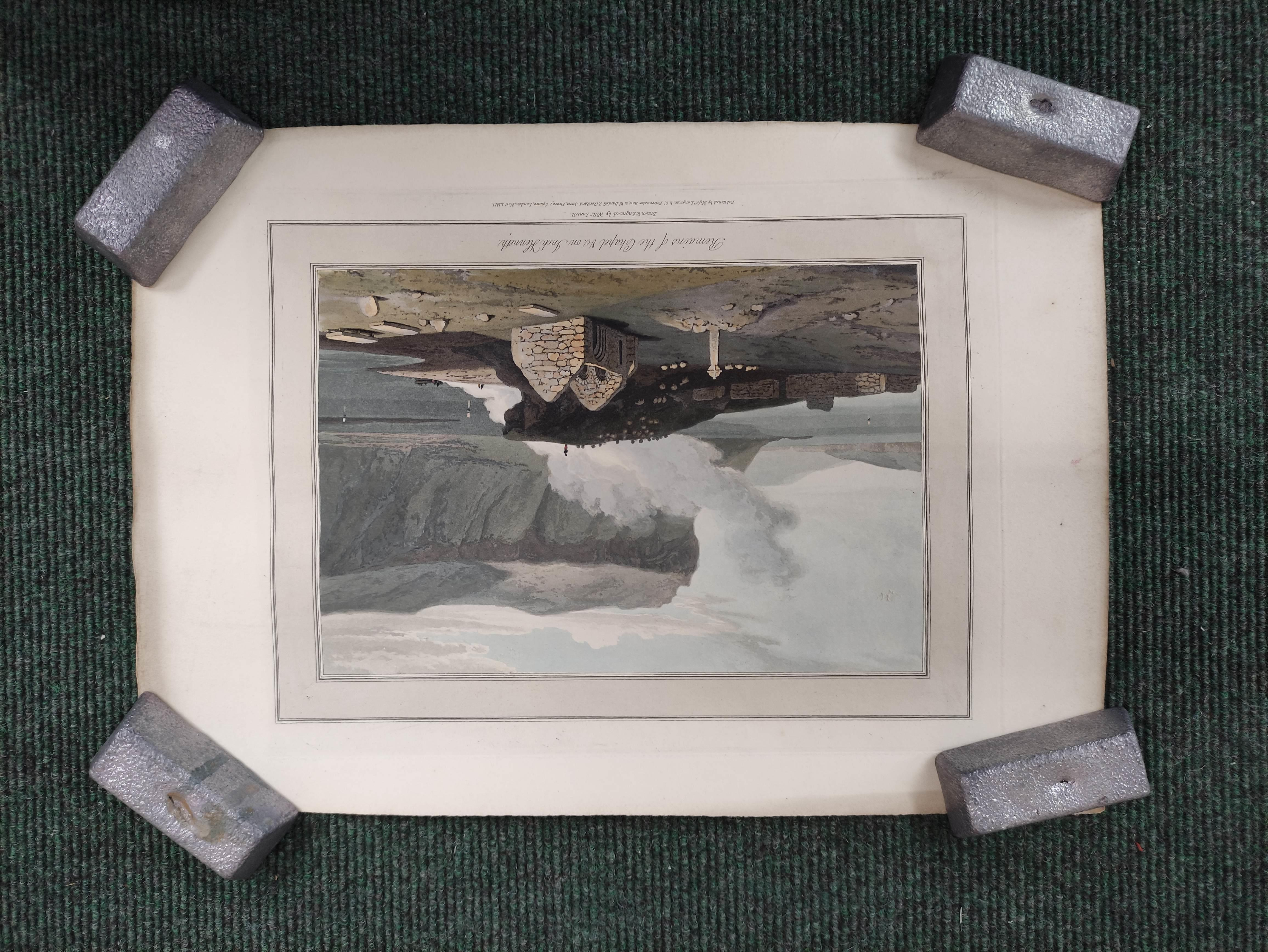 Highlands & Islands & others.A carton of prints & ephemera; also a quarto album of sepia & other - Image 7 of 7