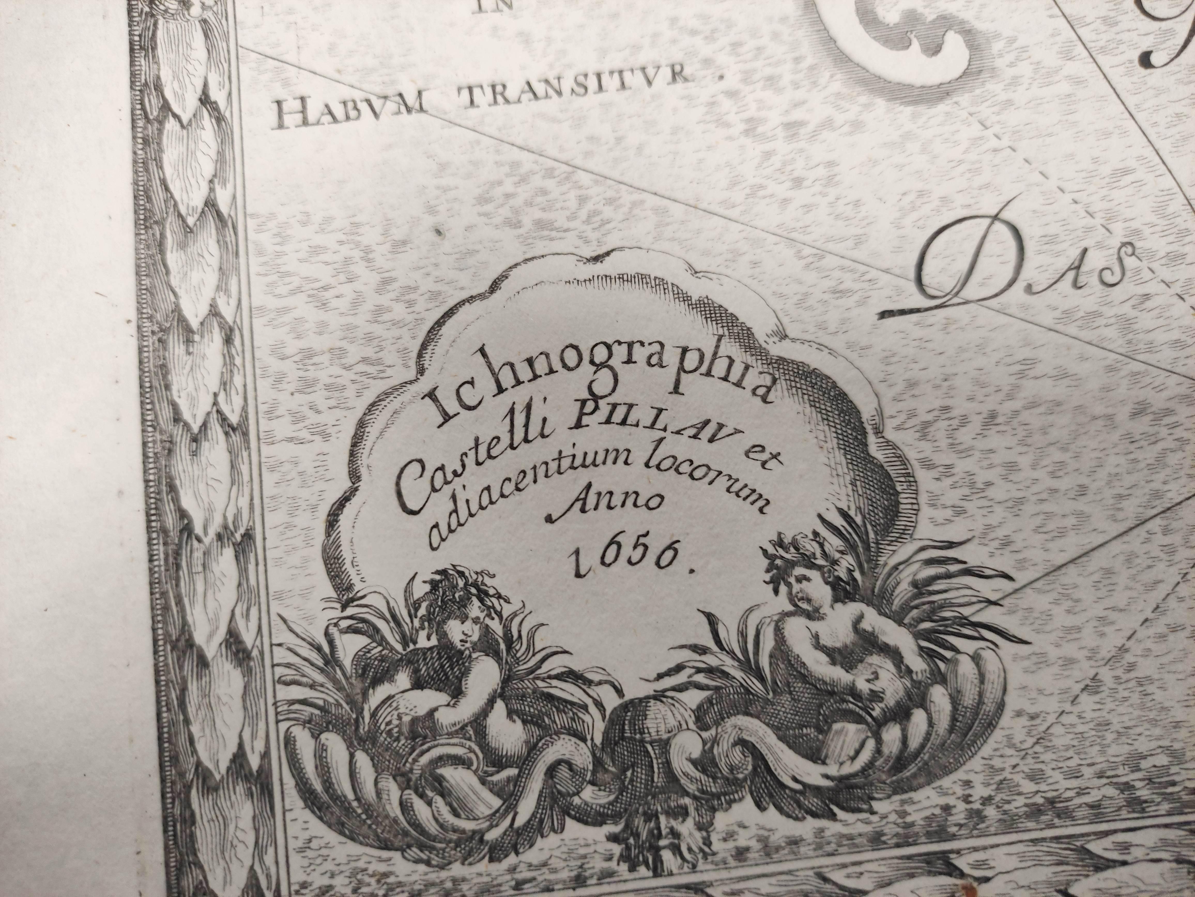 (DAHLBERG E. J.)Ichnographia Castri Schwetz & Ichnographia Castelli Pillau. 2 17th cent. - Image 8 of 12