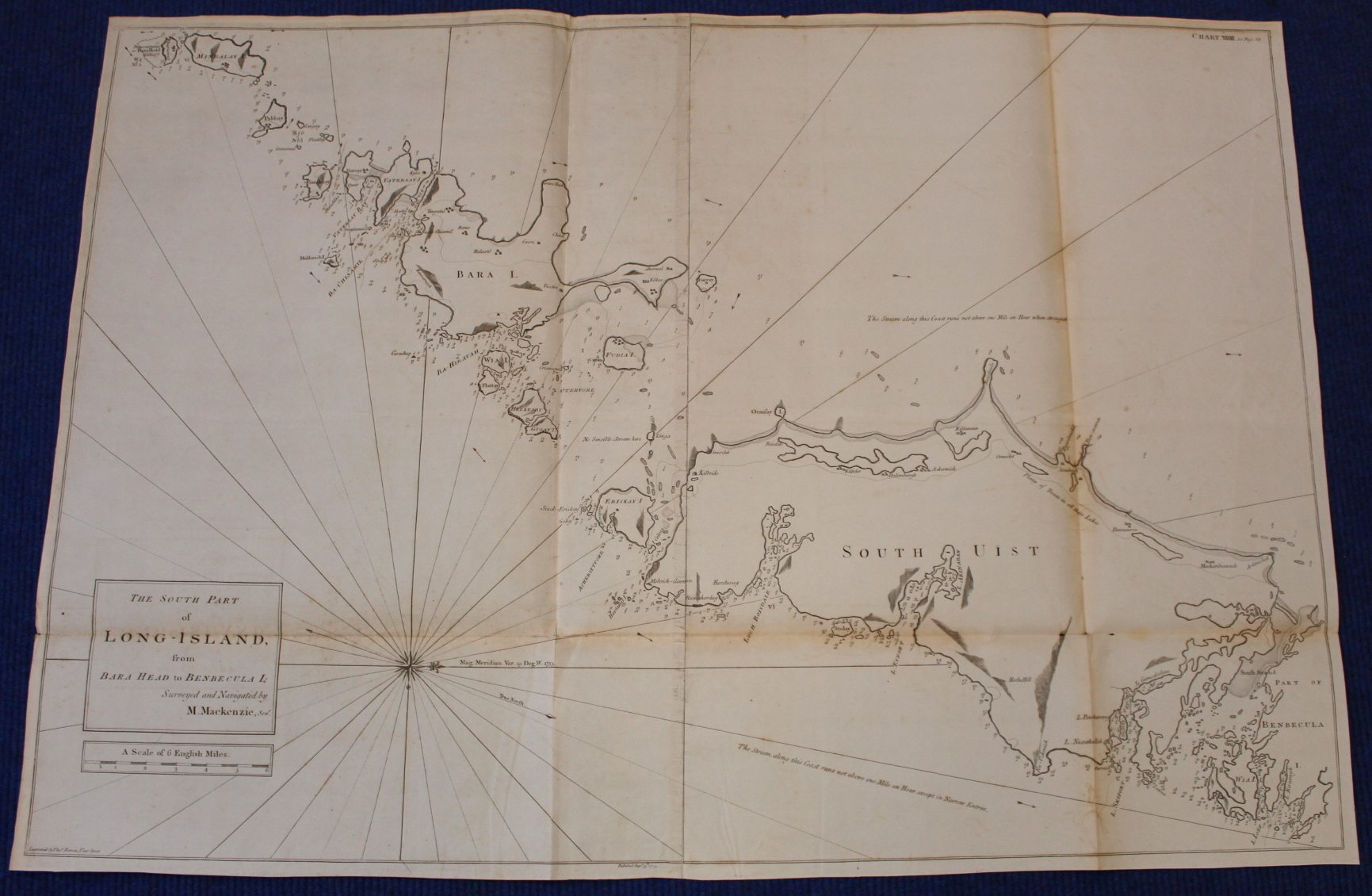 MACKENZIE MURDOCH (SNR.).A General Chart of the West Coast & Western Islands of Scotland from - Image 40 of 66