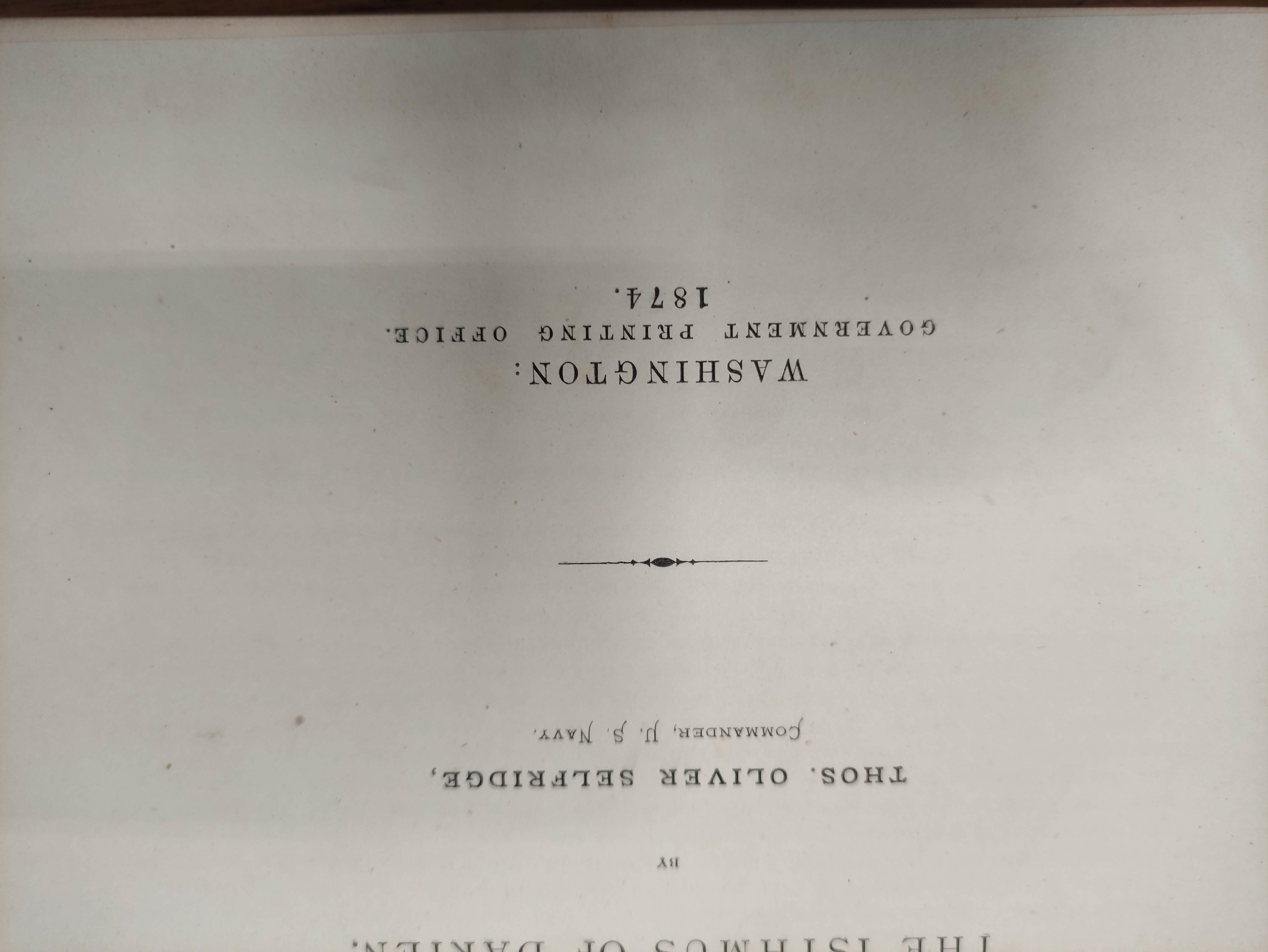 SELFRIDGE T. O.Reports of Explorations & Surveys to Ascertain the Practicability of a Ship- - Image 5 of 14
