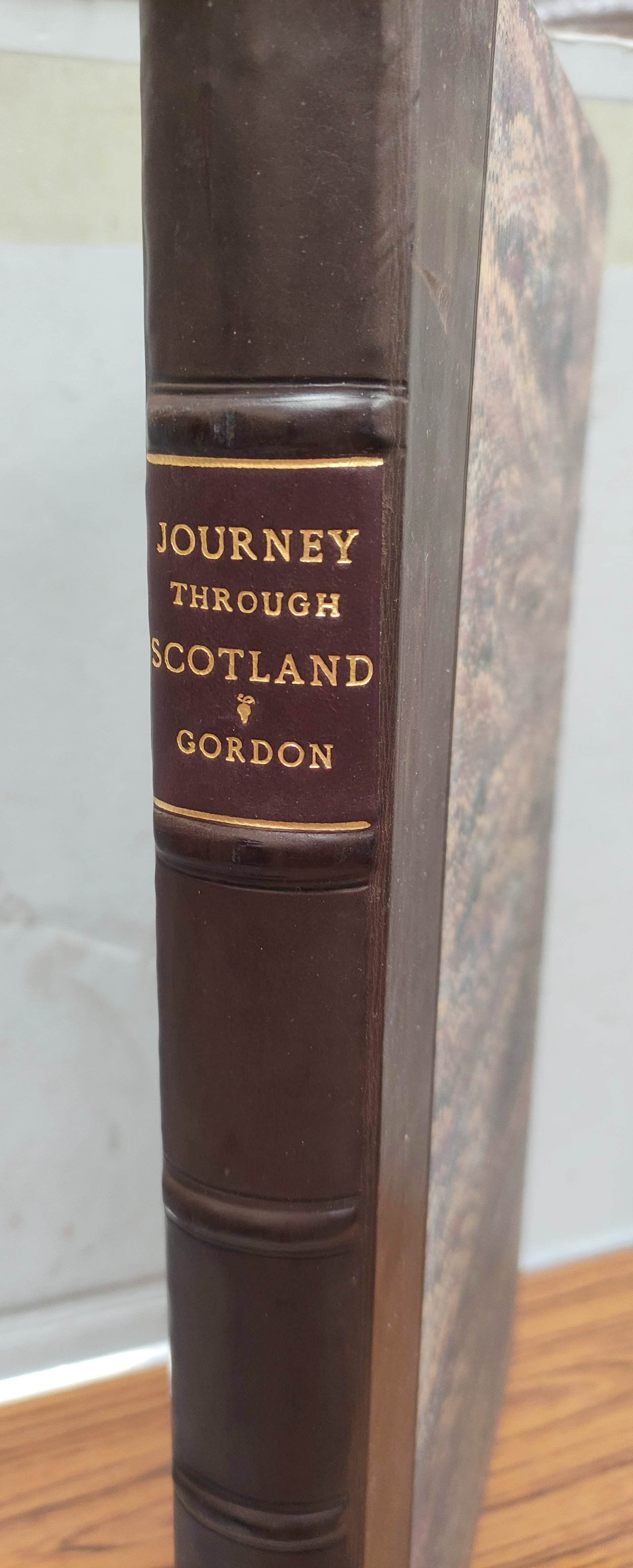 GORDON ALEXANDER.Itinerarium Septentrionale or A Journey Thro' ... Scotland & Those in the North - Image 2 of 9