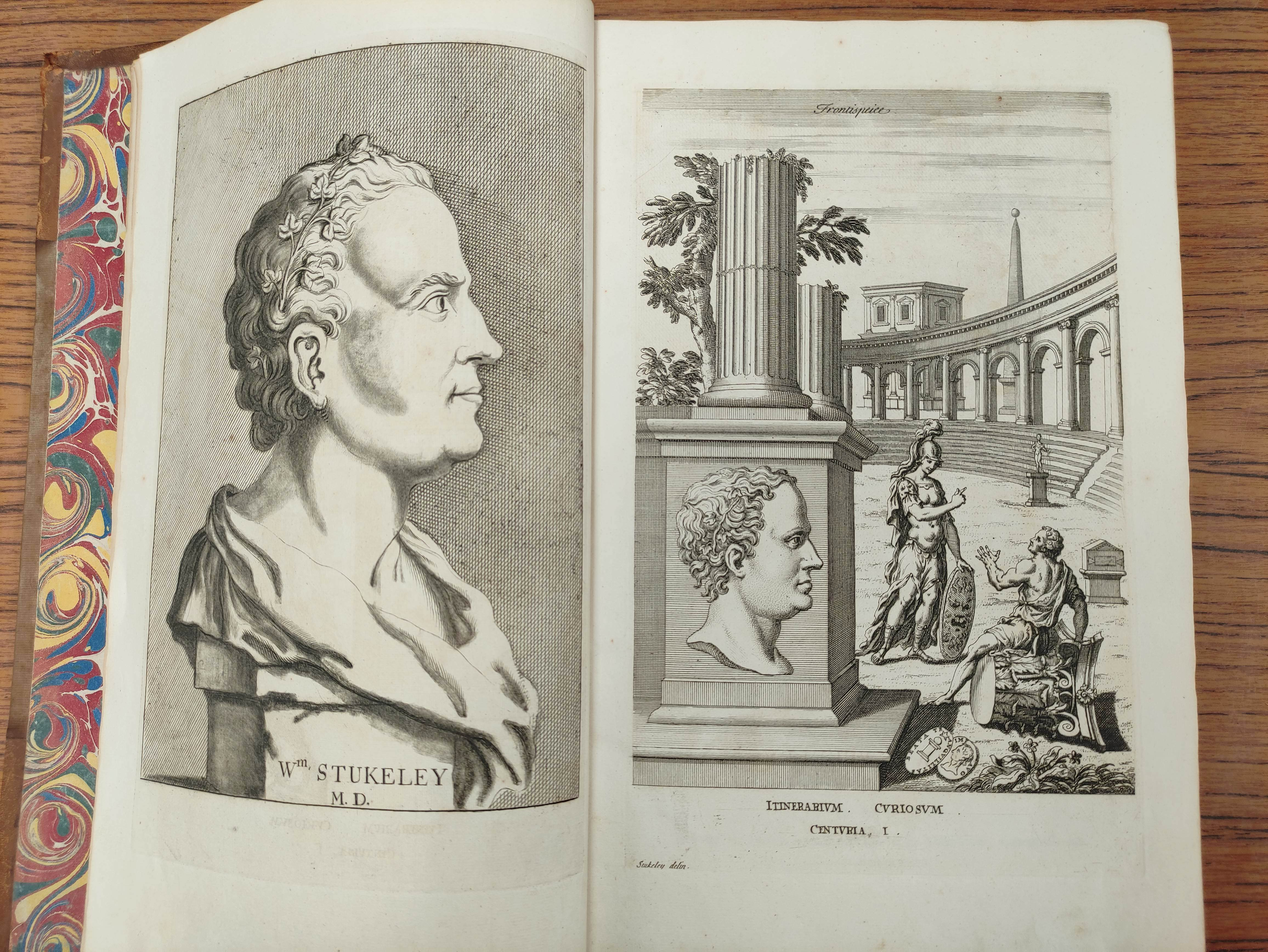 STUKELEY WILLIAM.Itinerarium Curiosum or An Account of the Antiquities & Remarkable Curiousities - Image 7 of 10