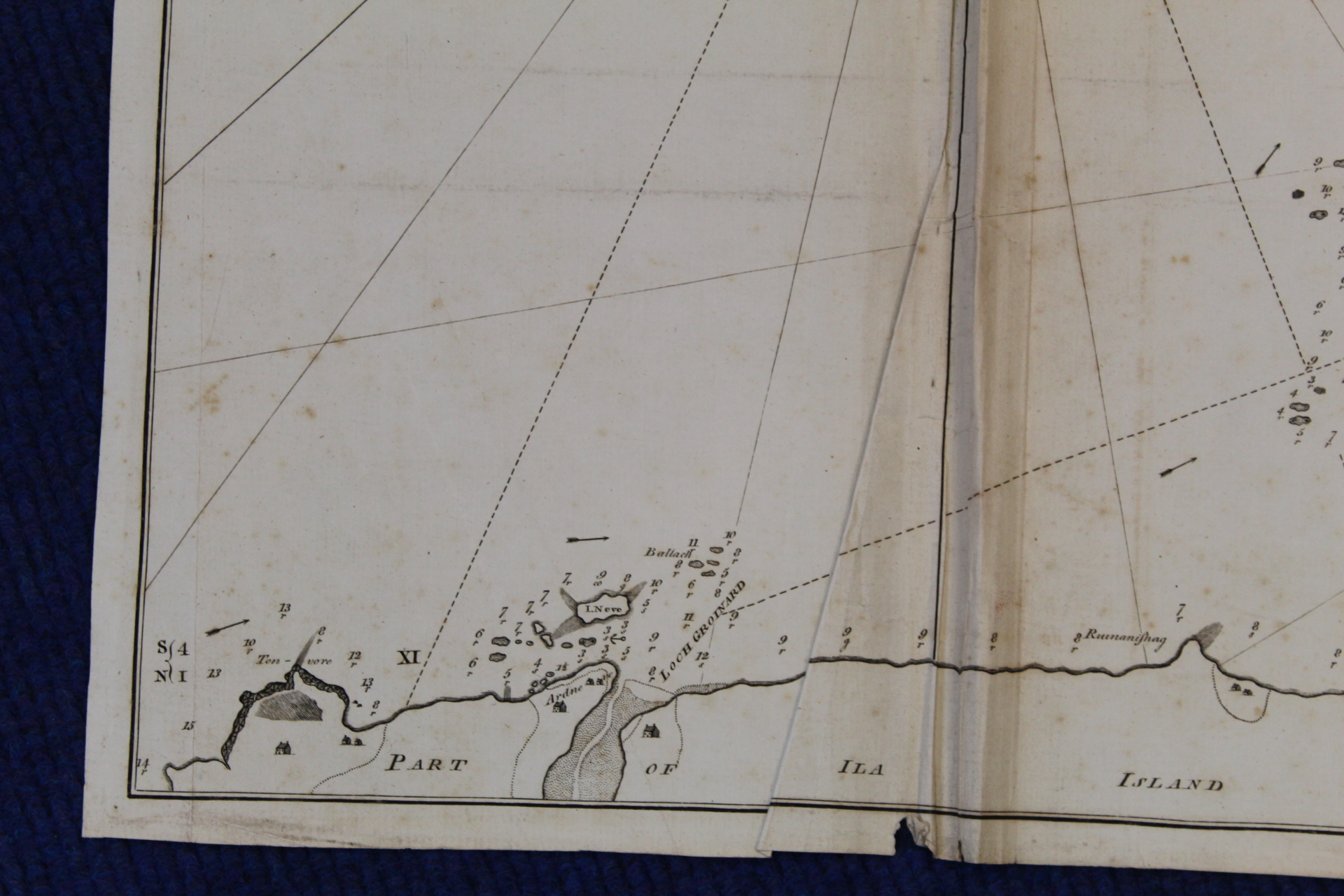 MACKENZIE MURDOCH (SNR.).A General Chart of the West Coast & Western Islands of Scotland from - Image 61 of 66