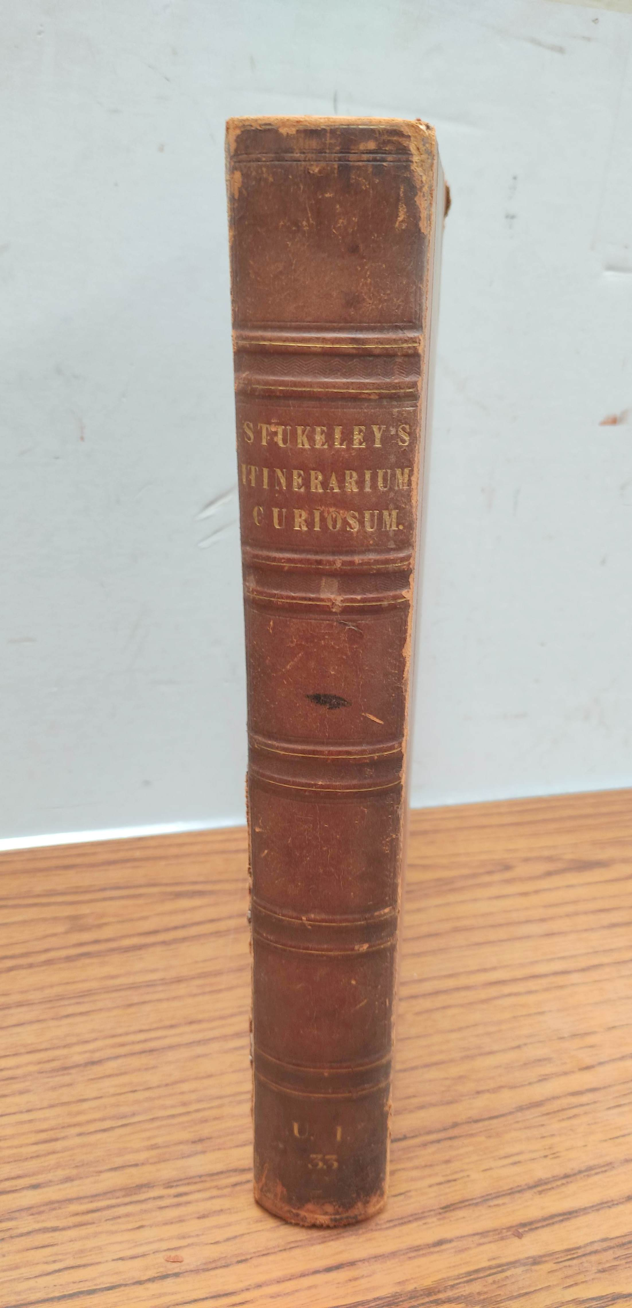 STUKELEY WILLIAM.Itinerarium Curiosum or An Account of the Antiquities & Remarkable Curiousities - Image 2 of 10