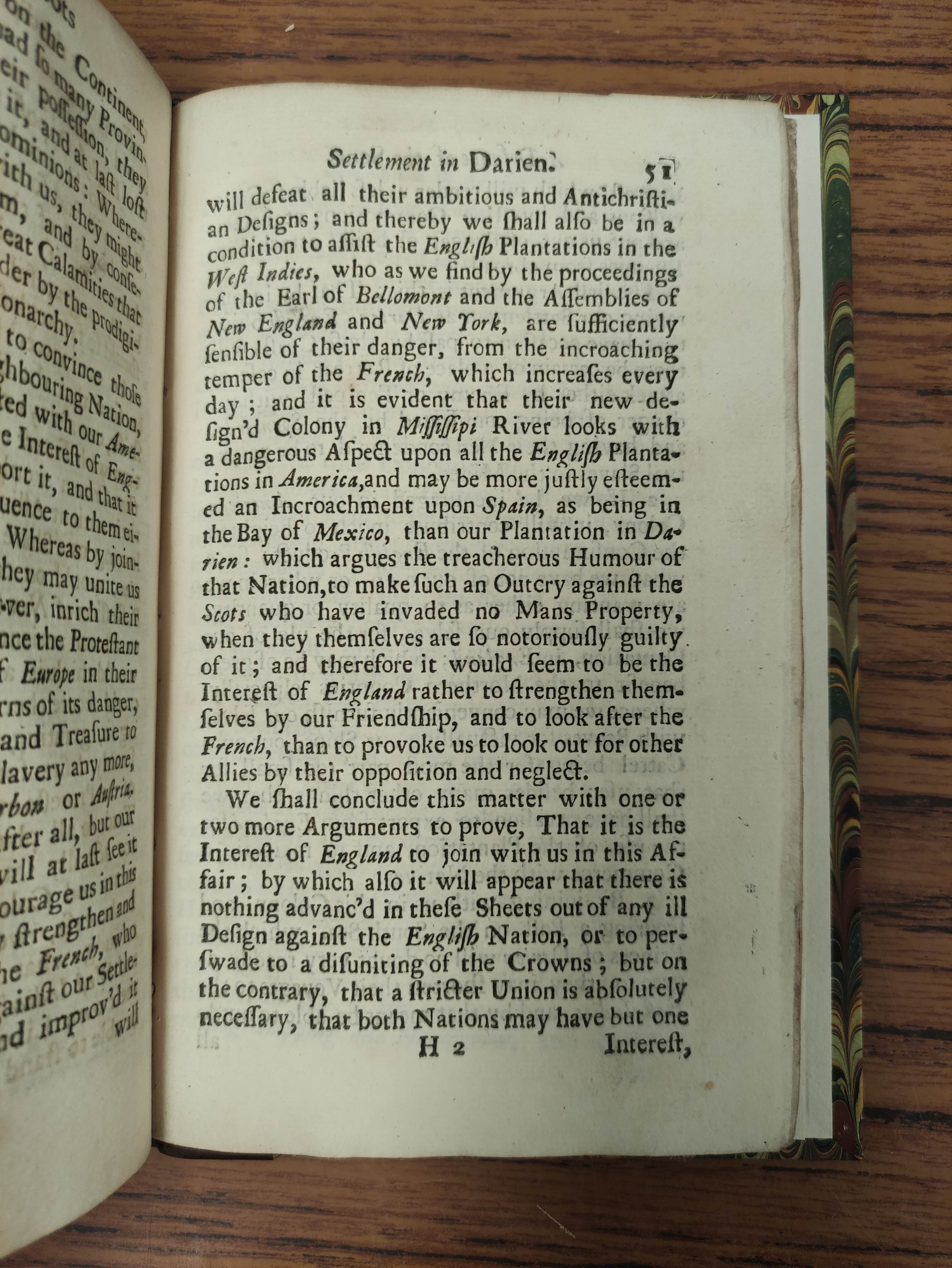 """""""PHILO-CALEDON"""" (poss. Lord Belhaven). A Defence of the Scots Settlement at Darien with an Answer - Image 6 of 9"""
