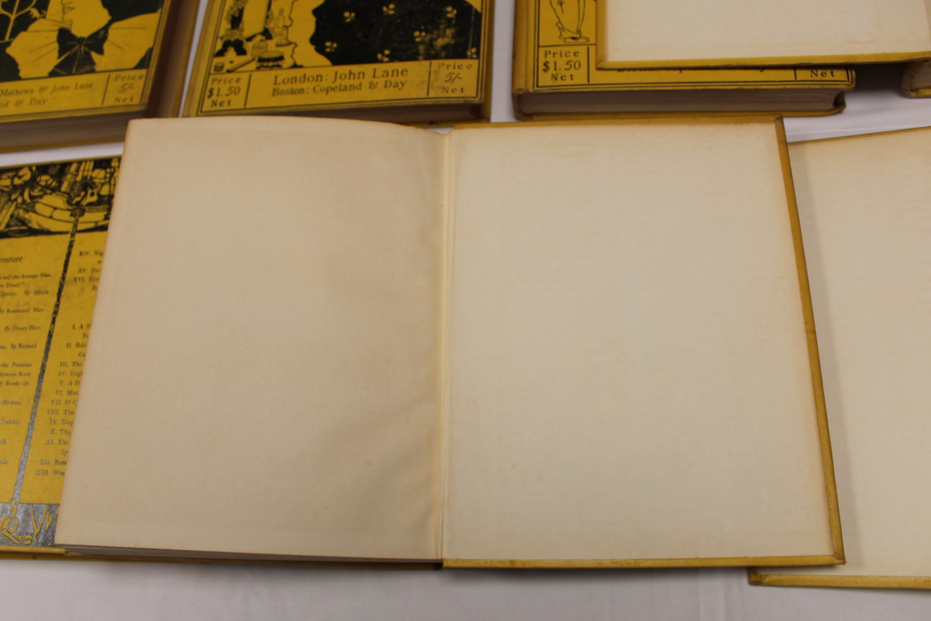 THE YELLOW BOOK.An Illustrated Quarterly. A set of 13 vols., many fine illus. Small quarto. - Image 20 of 45